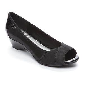 New Anne Klein Sport Memory 2 Wedge Pump Heel Shoe